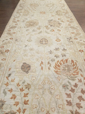 n210 - Classic Tabriz Rug (Wool) - 3' x 10' | OAKRugs by Chelsea wool bohemian rugs, good quality wool rugs, vintage wool braided rug