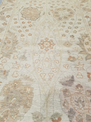 n211 - Classic Tabriz Rug (Wool) - 3' x 10' | OAKRugs by Chelsea high end wool rugs, hand knotted wool area rugs, quality wool rugs