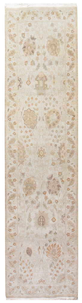 n211 - Classic Tabriz Rug (Wool) - 3' x 10' | OAKRugs by Chelsea affordable wool rugs, handmade wool area rugs, wool and silk rugs contemporary
