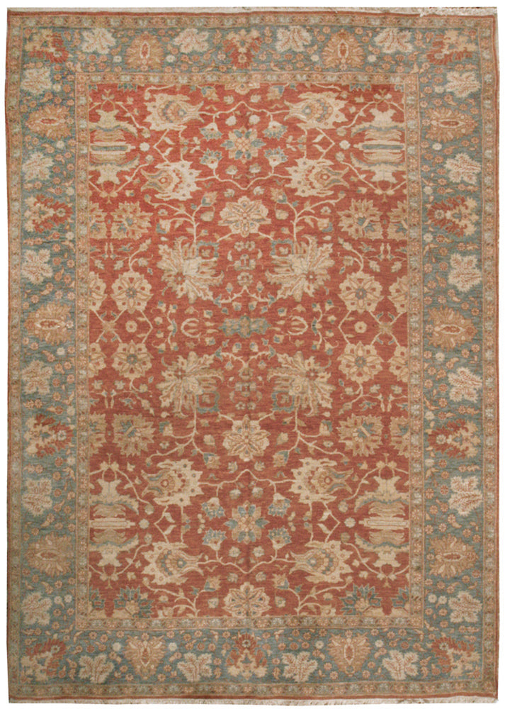 n236 - Classic Zeigler Rug (Wool) - 9' x 12' | OAKRugs by Chelsea affordable wool rugs, handmade wool area rugs, wool and silk rugs contemporary