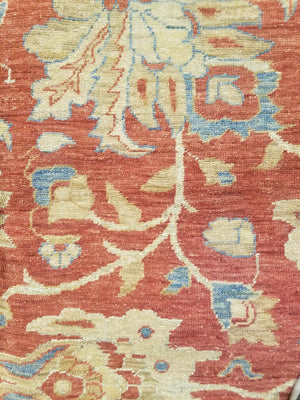 n236 - Classic Zeigler Rug (Wool) - 9' x 12' | OAKRugs by Chelsea high end wool rugs, hand knotted wool area rugs, quality wool rugs