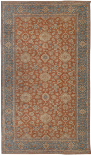 n248 - Classic Zeigler Rug (Wool) - 14' x 22' | OAKRugs by Chelsea affordable wool rugs, handmade wool area rugs, wool and silk rugs contemporary