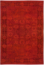 n282 - Transitional Overdye Rug (Wool) - 12' x 18' | OAKRugs by Chelsea contemporary overdye rugs, modern overdyed wool rugs, high quality overdyed rugs