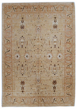 n290 - Classic Zeigler Rug (Wool) - 9' x 12' | OAKRugs by Chelsea affordable wool rugs, handmade wool area rugs, wool and silk rugs contemporary