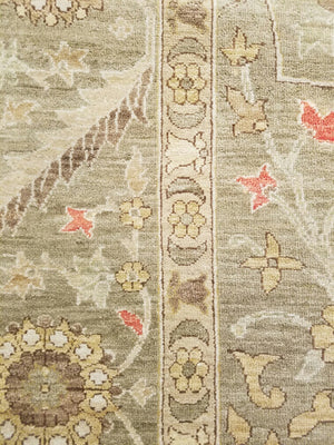 n307 - Classic Zeigler Rug (Wool) - 9' x 12' | OAKRugs by Chelsea high end wool rugs, hand knotted wool area rugs, quality wool rugs
