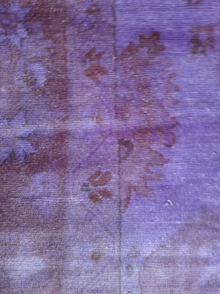 n309 - Transitional Overdye Rug (Wool) - 9' x 12' | OAKRugs by Chelsea handcrafted overdye rugs, handmade overdyed rugs, high quality overdyed area rugs