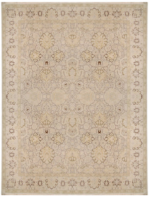 n311 - Classic Agra Rug (Wool) - 12' x 15' | OAKRugs by Chelsea inexpensive wool rugs, unique wool rugs, wool rug vintage