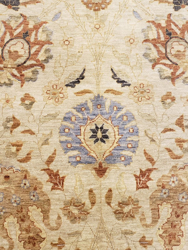 n332 - Classic Tabriz Rug (Wool) - 10' x 14' | OAKRugs by Chelsea high end wool rugs, hand knotted wool area rugs, quality wool rugs