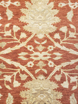 n347 - Classic Zeigler Rug (Wool) - 12' x 15' | OAKRugs by Chelsea wool bohemian rugs, good quality wool rugs, vintage wool braided rug