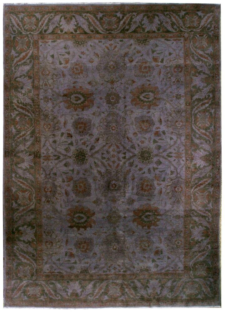 n349 - Transitional Overdye Rug (Wool) - 9' x 12' | OAKRugs by Chelsea contemporary overdye rugs, modern overdyed wool rugs, high quality overdyed rugs
