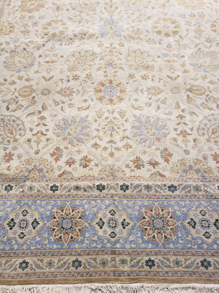 n3739 - Classic Tabriz Rug (Wool) - 10' x 14' | OAKRugs by Chelsea high end wool rugs, hand knotted wool area rugs, quality wool rugs