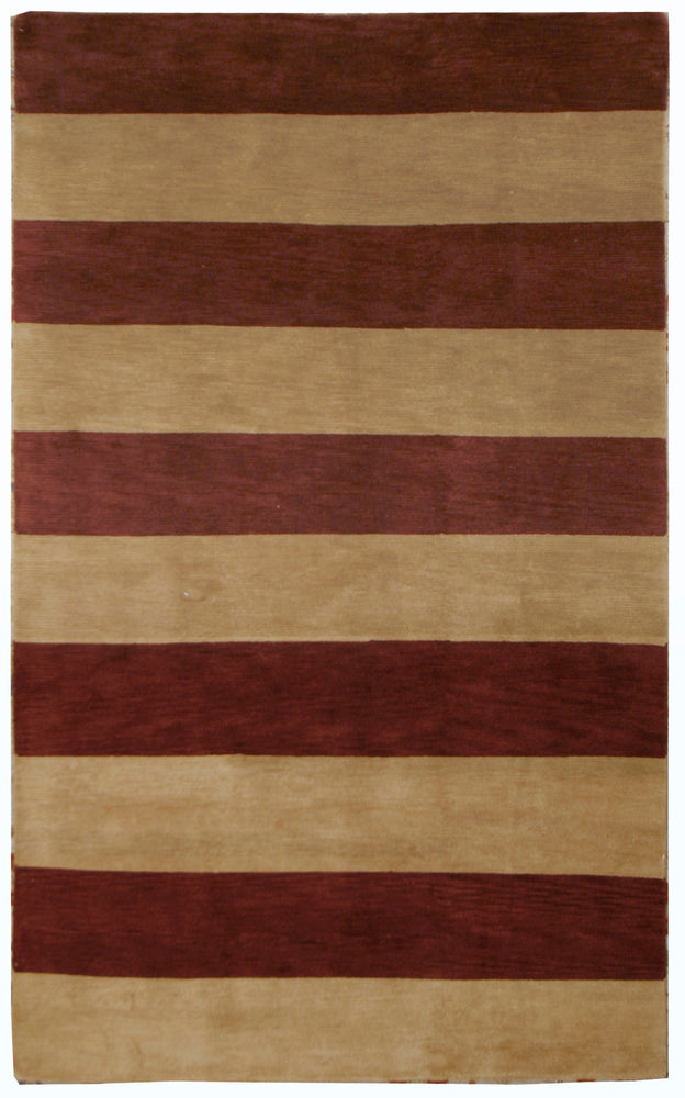 n441 - Contemporary Rug (Wool) - 5' x 7' | OAKRugs by Chelsea inexpensive wool rugs, unique wool rugs, wool rug vintage