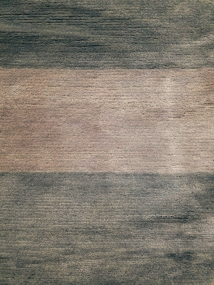 n451 - Contemporary Rug (Wool) - 5' x 7' | OAKRugs by Chelsea wool silk rugs contemporary, handmade modern wool rugs, wool silk area rugs contemporary