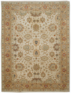 n477 - Classic Zeigler Rug (Wool) - 8' x 10' | OAKRugs by Chelsea affordable wool rugs, handmade wool area rugs, wool and silk rugs contemporary