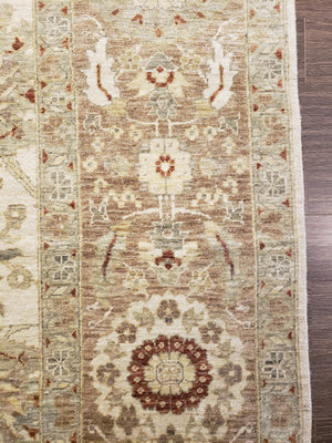 n485 - Classic Tabriz Rug (wool) - 10' x 14' | OAKRugs by Chelsea high end wool rugs, hand knotted wool area rugs, quality wool rugs