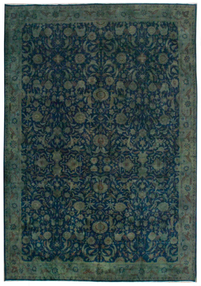 n500 - Transitional Overdye Rug (Wool) - 10' x 14' | OAKRugs by Chelsea contemporary overdye rugs, modern overdyed wool rugs, high quality overdyed rugs