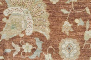 n509 - Classic Zeigler Rug (Wool) - 9' x 12' | OAKRugs by Chelsea high end wool rugs, hand knotted wool area rugs, quality wool rugs