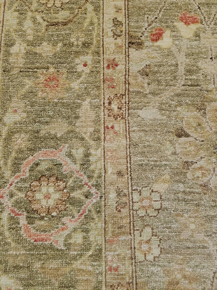 n518 - Classic Zeigler Rug (Wool) - 6' x 9' | OAKRugs by Chelsea high end wool rugs, hand knotted wool area rugs, quality wool rugs