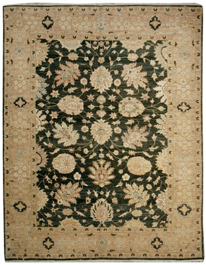 n521 - Classic Zeigler Rug (Wool) - 8' x 10' | OAKRugs by Chelsea affordable wool rugs, handmade wool area rugs, wool and silk rugs contemporary