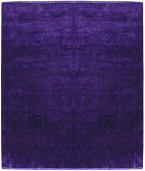 n522 - Transitional Overdye Rug (Wool) - 8' x 10' | OAKRugs by Chelsea contemporary overdye rugs, modern overdyed wool rugs, high quality overdyed rugs