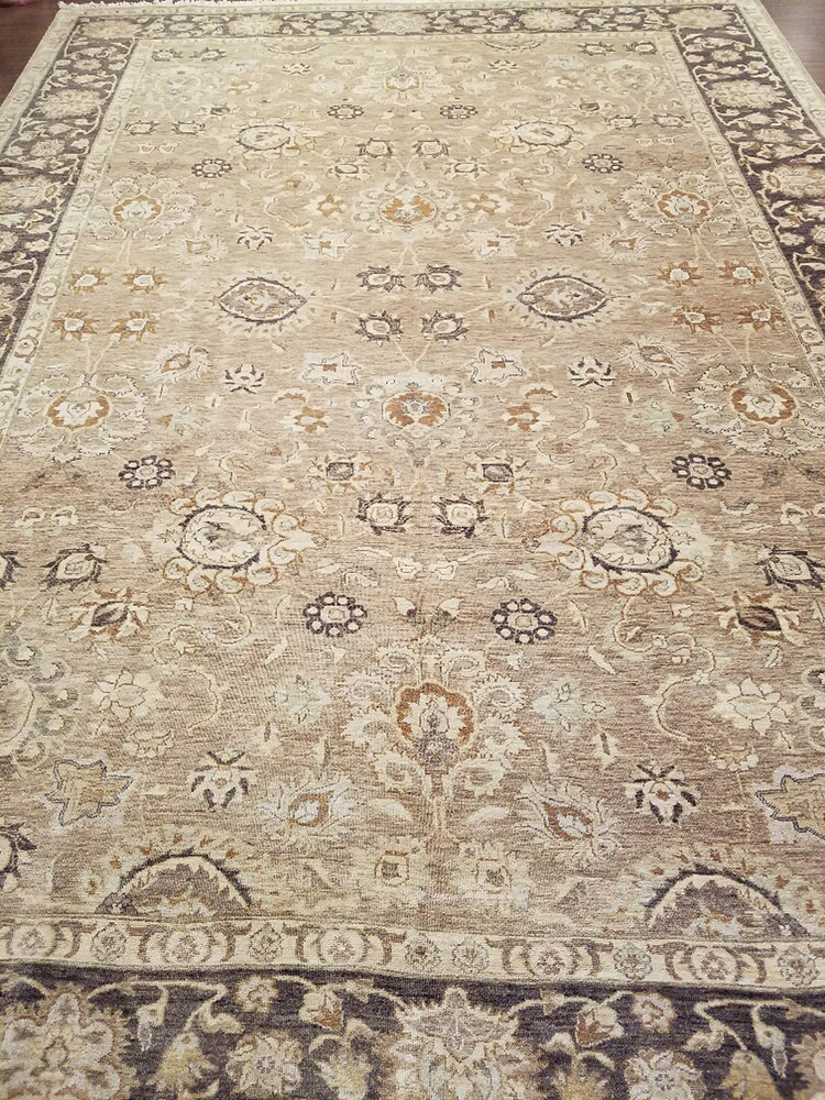 n532 - Classic Zeigler Rug (Wool) - 10' x 14' | OAKRugs by Chelsea wool bohemian rugs, good quality wool rugs, vintage wool braided rug