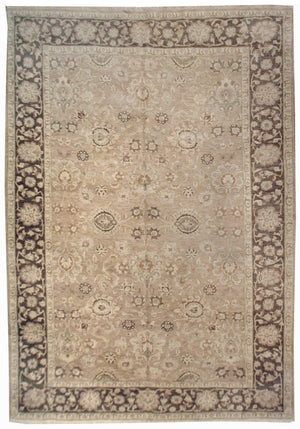 n532 - Classic Zeigler Rug (Wool) - 10' x 14' | OAKRugs by Chelsea affordable wool rugs, handmade wool area rugs, wool and silk rugs contemporary