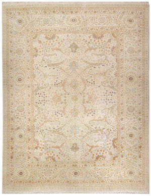 n5865 - Classic Tabriz Rug (Wool) - 10' x 14' | OAKRugs by Chelsea affordable wool rugs, handmade wool area rugs, wool and silk rugs contemporary
