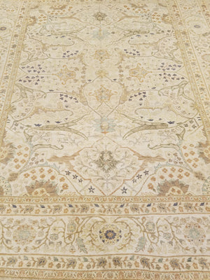 n5870 - Classic Tabriz Rug (Wool) - 8' x 10' | OAKRugs by Chelsea wool bohemian rugs, good quality wool rugs, vintage wool braided rug