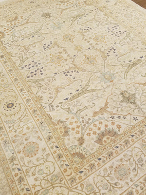 n5870 - Classic Tabriz Rug (Wool) - 8' x 10' | OAKRugs by Chelsea high end wool rugs, hand knotted wool area rugs, quality wool rugs