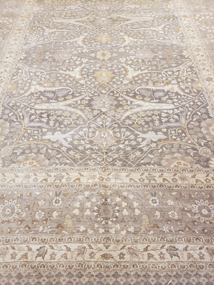n5877 - Classic Tabriz Rug (Wool) - 11 x 13' | OAKRugs by Chelsea wool bohemian rugs, good quality wool rugs, vintage wool braided rug
