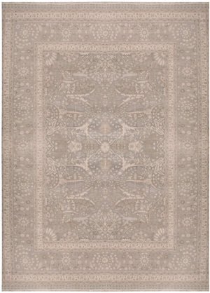 n5877 - Classic Tabriz Rug (Wool) - 11 x 13' | OAKRugs by Chelsea affordable wool rugs, handmade wool area rugs, wool and silk rugs contemporary
