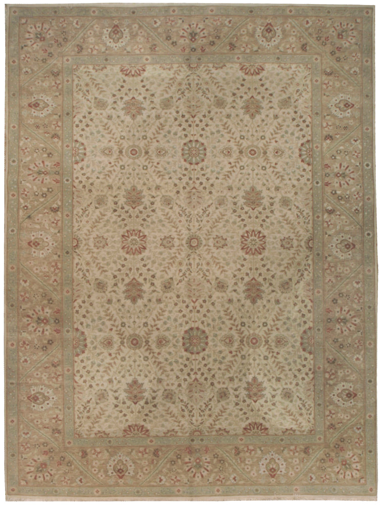 n5893 - Classic Tabriz Rug (wool) - 9' x 12' | OAKRugs by Chelsea affordable wool rugs, handmade wool area rugs, wool and silk rugs contemporary
