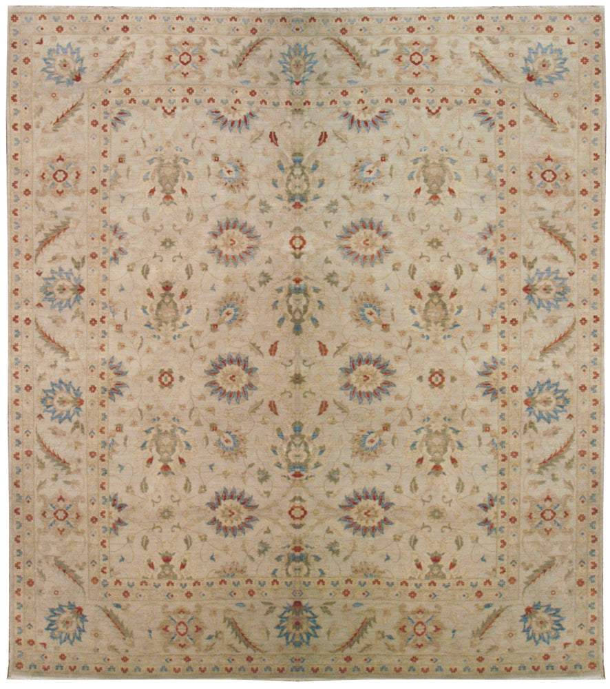 n5931 - Classic Zeigler Rug (Wool) - 12' x 15' | OAKRugs by Chelsea affordable wool rugs, handmade wool area rugs, wool and silk rugs contemporary
