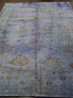 n5958 - Transitional Overdye Rug (wool) - 8' x 10' | OAKRugs by Chelsea handmade wool overdyed rugs, handcrafted wool overdye rugs, affordable wool overdyed rugs