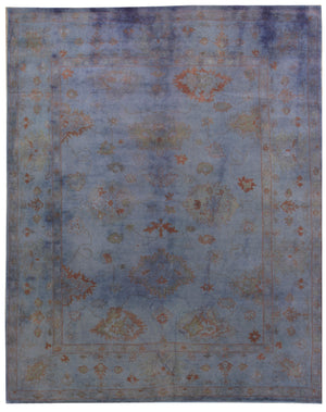 n5958 - Transitional Overdye Rug (wool) - 8' x 10' | OAKRugs by Chelsea contemporary overdye rugs, modern overdyed wool rugs, high quality overdyed rugs