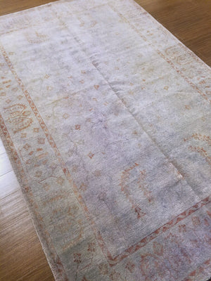 n5962 - Transitional Overdye Rug (wool) - 6' x 9' | OAKRugs by Chelsea handcrafted overdye rugs, handmade overdyed rugs, high quality overdyed area rugs
