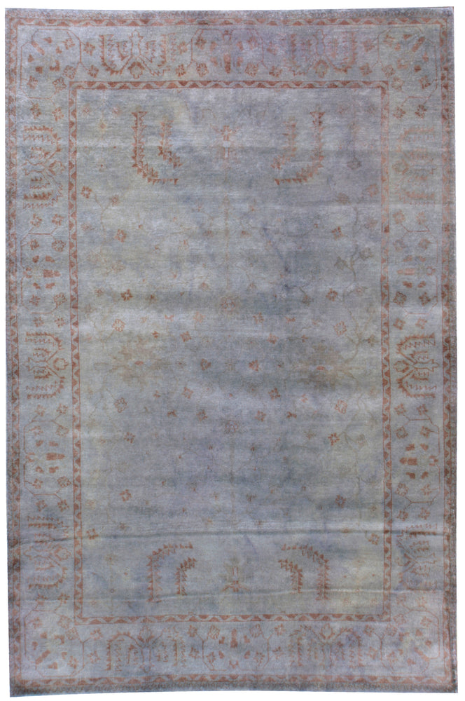 n5962 - Transitional Overdye Rug (wool) - 6' x 9' | OAKRugs by Chelsea contemporary overdye rugs, modern overdyed wool rugs, high quality overdyed rugs