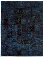 n5969 - Transitional Overdye Rug (Wool) - 9' x 12' | OAKRugs by Chelsea contemporary overdye rugs, modern overdyed wool rugs, high quality overdyed rugs