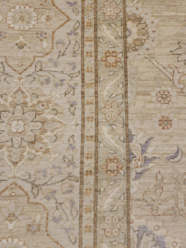 n5980 - Transitional Tabriz Rug (Wool) - 12' x 15' | OAKRugs by Chelsea high end wool rugs, hand knotted wool area rugs, quality wool rugs
