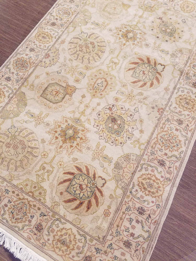 n6002 - Classic Zeigler Rug (Wool) - 4' x 6' | OAKRugs by Chelsea high end wool rugs, hand knotted wool area rugs, quality wool rugs