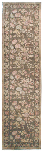 n6013 - European Besserebian Rug, 3'4'' x 15'11'' - | OAKRugs by Chelsea affordable wool rugs, handmade wool area rugs, wool and silk rugs contemporary