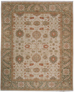 n6029 - Classic Zeigler Rug (Wool) - 8' x 10' | OAKRugs by Chelsea affordable wool rugs, handmade wool area rugs, wool and silk rugs contemporary
