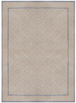 n6036 - European Embossed Rug (Wool) - 8' x 10' | OAKRugs by Chelsea inexpensive wool rugs, unique wool rugs, wool rug vintage