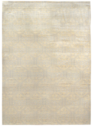 n6046 - Classic Gordes Rug (Wool) - 8' x 10' | OAKRugs by Chelsea affordable wool rugs, handmade wool area rugs, wool and silk rugs contemporary