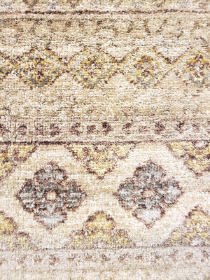n6054 - Transitional Ikat Rug (Wool) - 8' x 10' | OAKRugs by Chelsea high end wool rugs, hand knotted wool area rugs, quality wool rugs