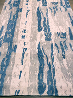 n6062 - Contemporary Rug (Wool and Silk) - 6' x 9' | OAKRugs by Chelsea wool silk rugs contemporary, handmade modern wool rugs, wool silk area rugs contemporary