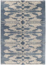 Contemporary Abstract Rug, Wool - 6' x 9' (n6071)