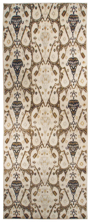n6073 - Contemporary Abstract Rug (Wool) - 6' x 14' | OAKRugs by Chelsea inexpensive wool rugs, unique wool rugs, wool rug vintage