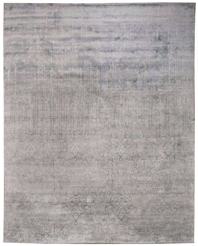 n6082 - Contemporary Damask Rug (Wool) - 8' x 10' | OAKRugs by Chelsea inexpensive wool rugs, unique wool rugs, wool rug vintage