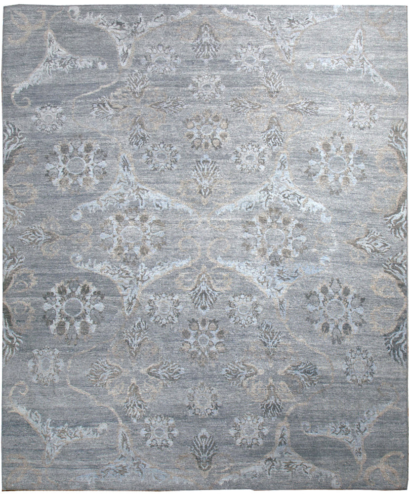 n6118 - Transitional Bamboo Rug (Bamboo Silk) - 8' x 10' | OAKRugs by Chelsea inexpensive wool rugs, unique wool rugs, wool rug vintage